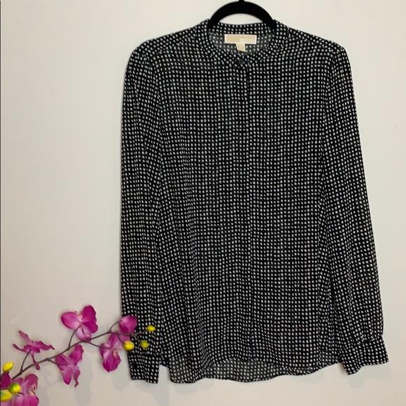 Michael Michael Kors polka squares blouse